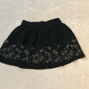 Ruby and bloom girls floral skirt